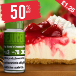 £1.25 – 50% OFF Juice of the week is Big Mama's Cheesecake!