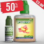 £3.99 – 50% OFF Shortfill of the week is Pear Drops with free nic shot!