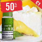£1 – 50% OFF Juice of the week is Lemon Tart!
