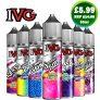 April Sales – IVG (All Ranges) 50ml E-Liquid Shortfill – Only £5.99