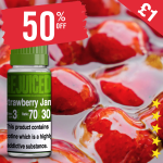 50% OFF – £1 Strawberry Jam – Juice of the week
