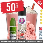 £4 Strawberry shake! 50% OFF Juice of the week