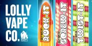 Lolly Vape Co All 60ml only £10 – Cheapest in the UK