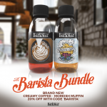 THE BRAND NEW BARISTA BUNDLE WITH 20% OFF!