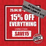 15% OFF On All Vaping Products