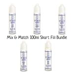 Mix & Match 100ml Short Fill Bundle by Mt Baker Vapor (2x50ml)