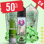 £4 – 50% OFF Shortfill of the week Mint Choc Chip Shake