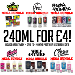 240ML FOR ONLY £4!?