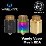 Vandy Vape Mesh RDA £14.99 Free Delivery at Vape-Mail.co.uk!