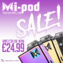 CHEAPEST MI-POD'S ON THE INTERNET! £24.99