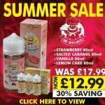 Mr Macaron 80ml Shortfills – £12.99 @ Flawless Vape Shop Summer Sale!