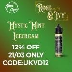 Mystic Mint Ice Cream eLiquid 50ml only £3.96