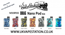 Voopoo Drag Nano Pod KIT + Free 10ml Nicsalt liquid