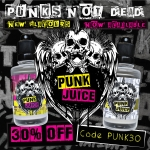 30% OFF Punk Juice Concentrates, Shots & Kits!