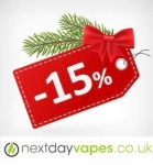 15% off at Next Day VAPES