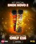 SMOK Novo 2 Pod Kit ONLY £16 – LIMITED TIME