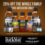 25% off the whole family! This weekend only