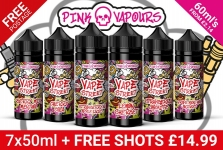 14 X 50ML ELIQUID BUNDLE (840ML) WITH UK SHIPPING – £29.99