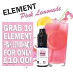 Element Pink Lemonade – 10 x 10ml for £10.00 – TABlites