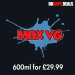 MaxVG.net Deal – 6x100ml for £29.99! Free Delivery!