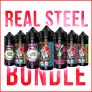 CRAZY 7 x 50ml REAL STEAL Bundle – £16.99 – FREE UK SHIPPING & FREE NIC SHOTS – WHILST STOCKS LAST SELLING OUT FAST!