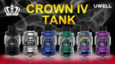 UWELL CROWN 4 TANKS NOW AVAILABLE