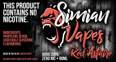 90ml of Red Astaire for £10.80 at Simian Vapes