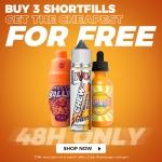 BUY 3 SHORTFILLS, GET CHEAPEST FOR FREE