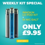 Innokin I.O Pod Kit FOR ONLY £9.95 + Free Nic Salt