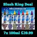 Slush King full range 700ml for £39.99