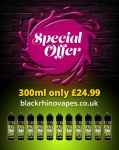 Any 3x100ml short fill deal now only £24.99
