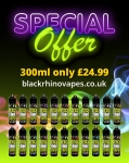 Special offer Any 3x100ml short fills now only £24.99