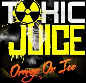 Orange on Ice flavour eLiquid by Toxic eJuice