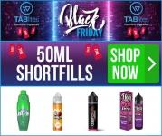 3 x 50ml Shortfill E-Liquids for £20