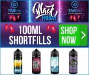 2 x 100ml Shortfill E-Liquids for £20