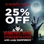 25% OFF Vampire Vape Concentrates
