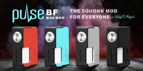 Vandy Vape Pulse BF Squonker Mod only £22 99 - UK Vape Deals