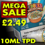 50% Off Vaper Treats – 60ml £2.49