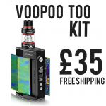 VooPoo Too Kit £35 + free shipping