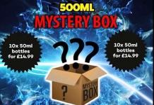 500ml Mystery E-Liquid Box £19.99